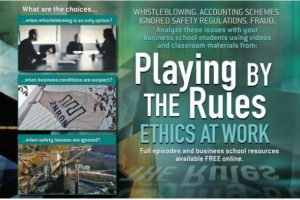 WLIW and WNET PBS Champion Playing By the Rules: Ethics At Work