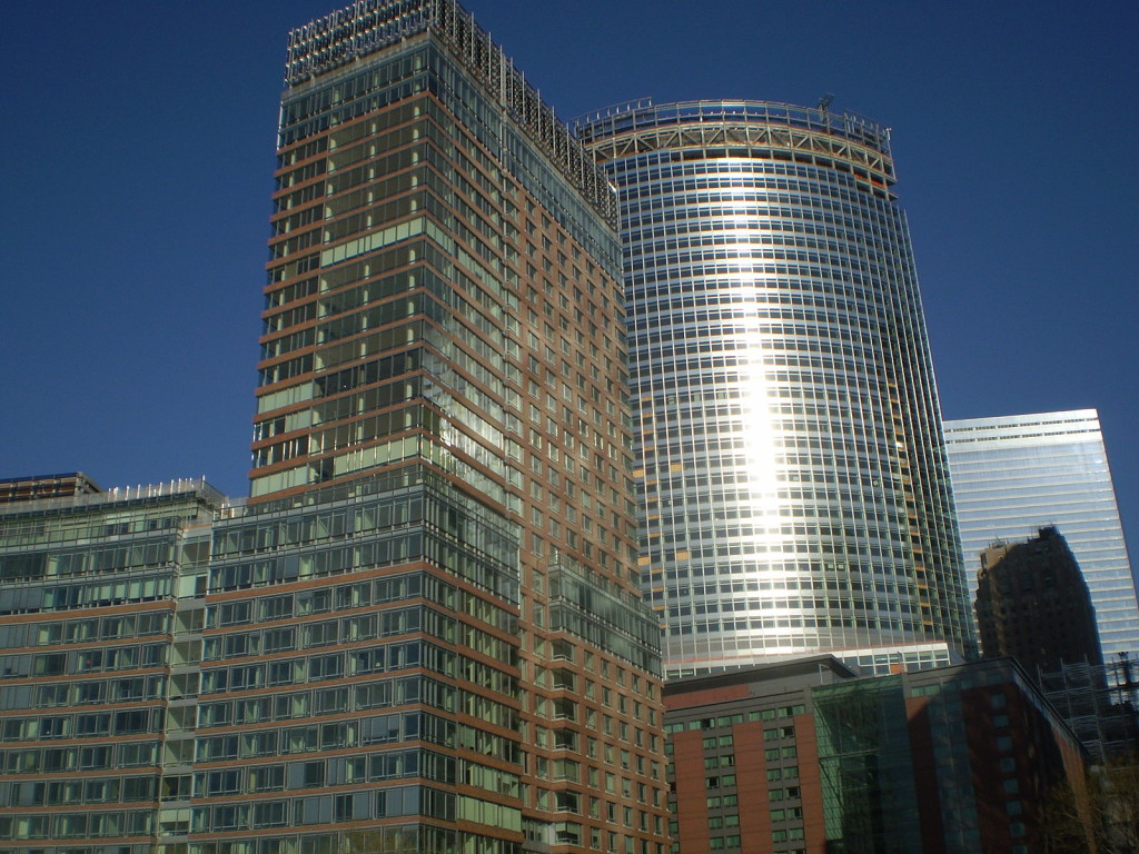 """Goldman Sachs New World Headquarters"". Licensed under Public Domain via Wikimedia Commons"