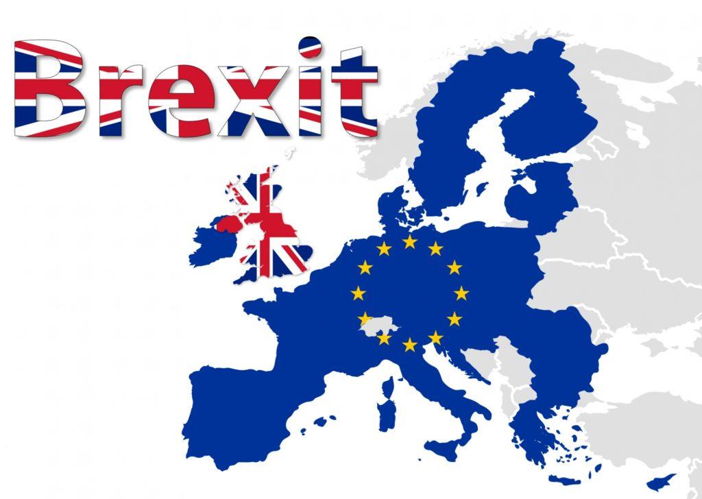 IMage: Brexit map of EU.