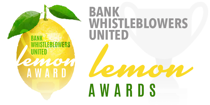 The DOJ Lemon Award – Go Directly to Jail!