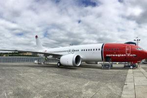 Image: Norwegian's Boeing 737 Max