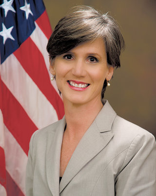 """Sally Yates"" by U.S. Department of Justice  Licensed under Public Domain via Wikimedia Commons"