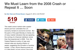 What Were the Major Causes of the 2008 Financial Crisis?
