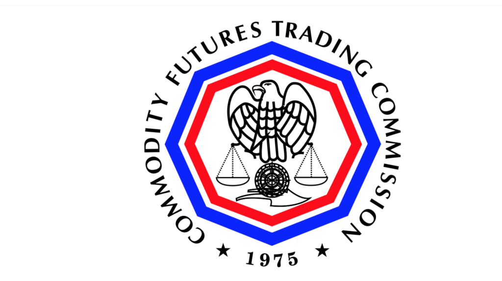 """US-CFTC-Seal"" by U.S. Government - Extracted from the PDF version of the CFTC's 2006 Performance Report, and colorized based on the description and version found here.. Licensed under Public Domain via Commons - https://commons.wikimedia.org/wiki/File:US-CFTC-Seal.svg#/media/File:US-CFTC-Seal.svg"