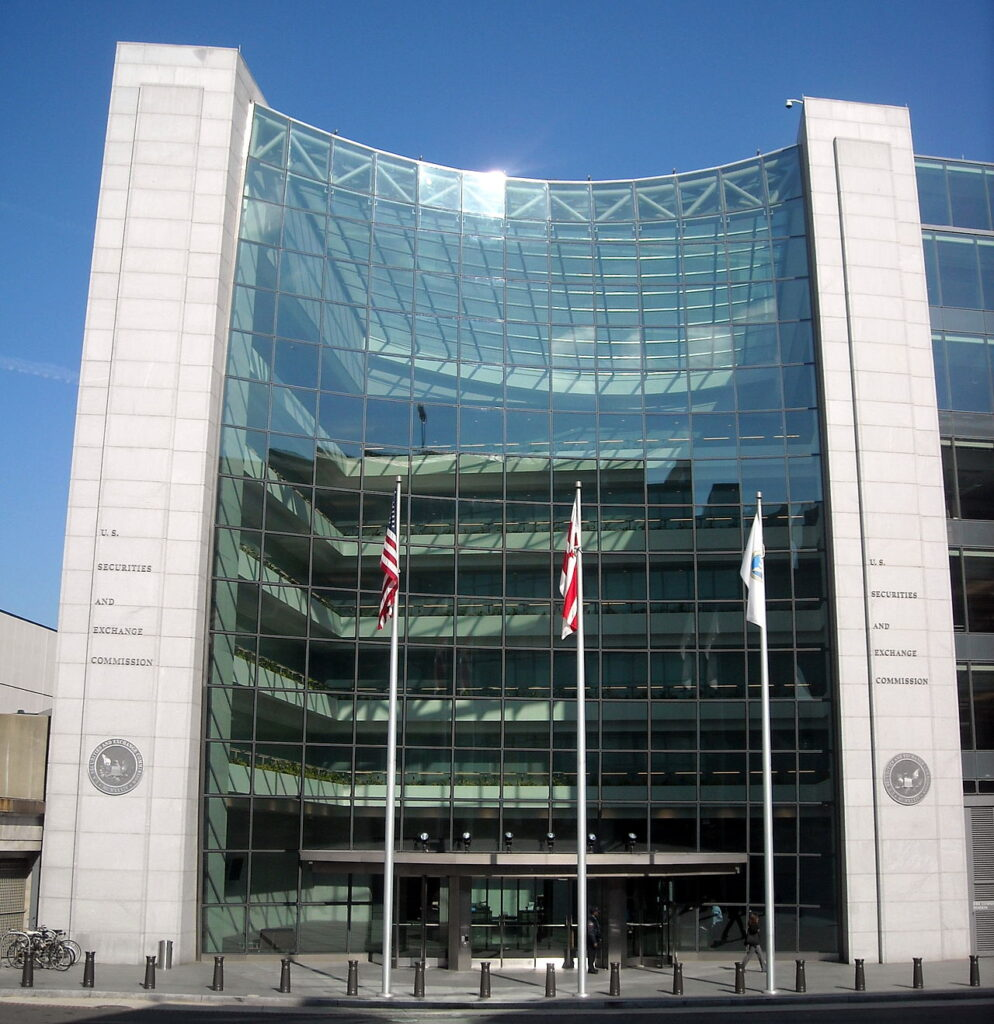 U.S. Securities and Exchange Commission headquarters in Washington, D.C., Credit: AgnosticPreachersKid - Own work, CC BY-SA 3.0,
