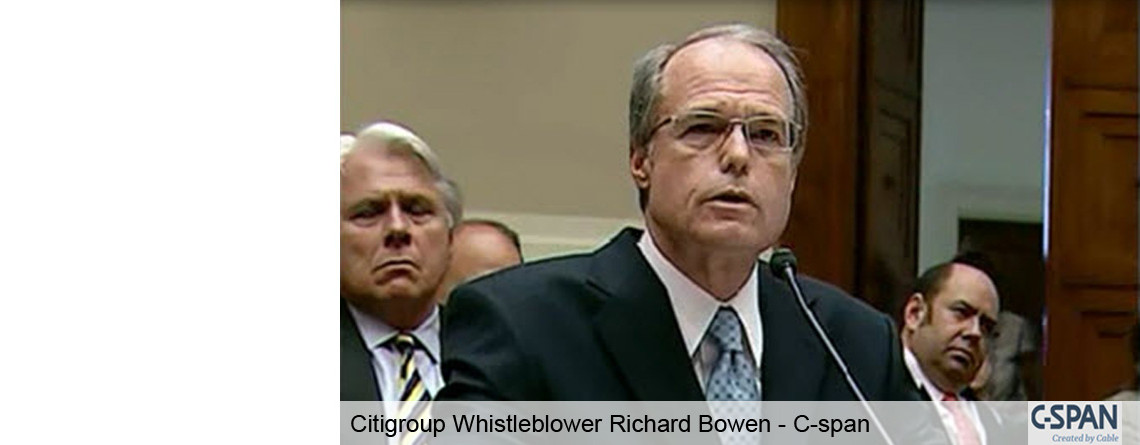Ethical Leadership Speaker & Citigroup Whistleblower