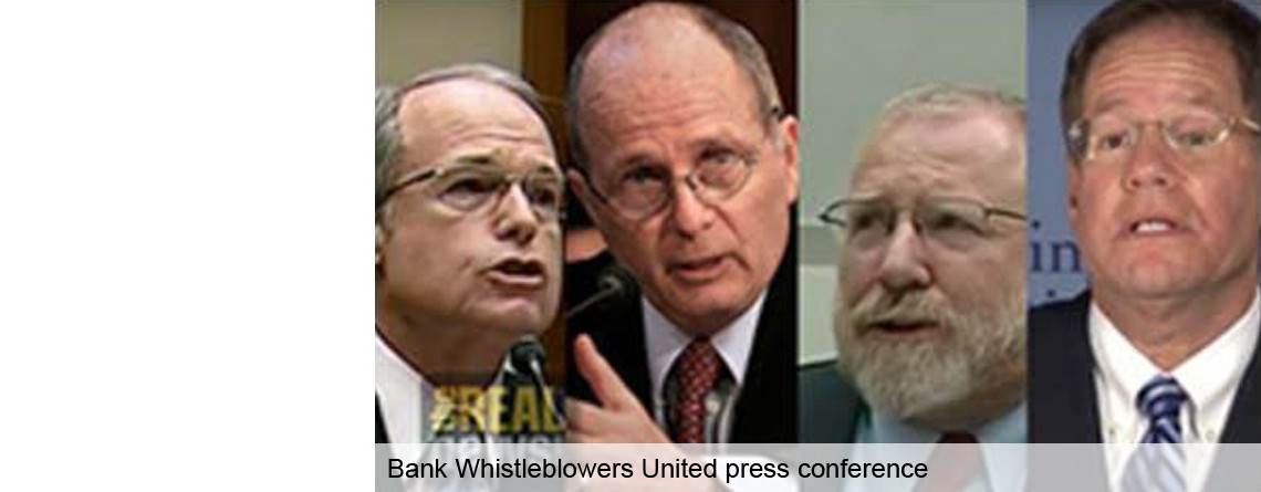 Bank Whistleblowers United press conference