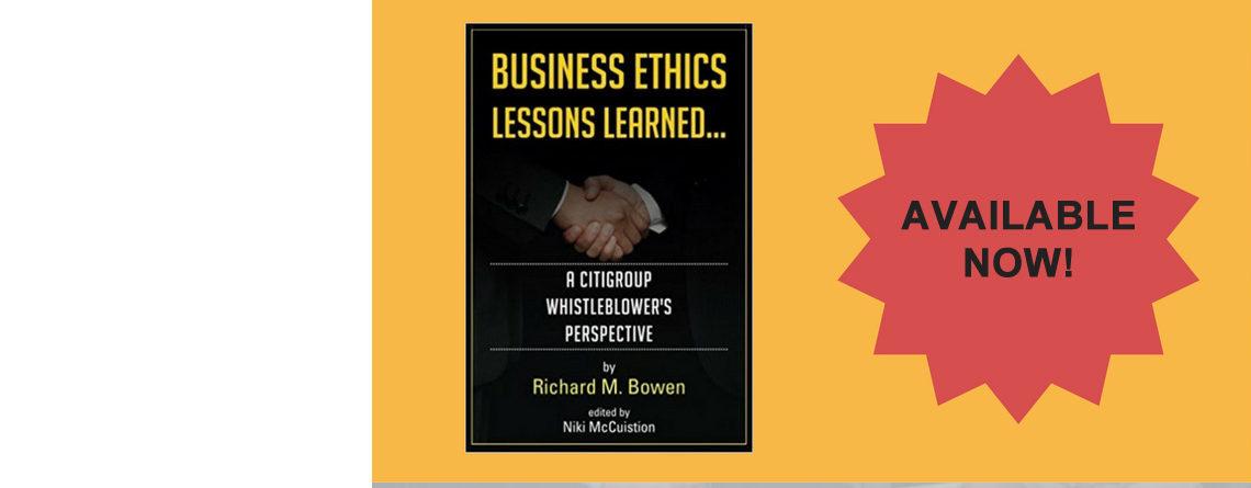 Richard Bowen is one of my heroes