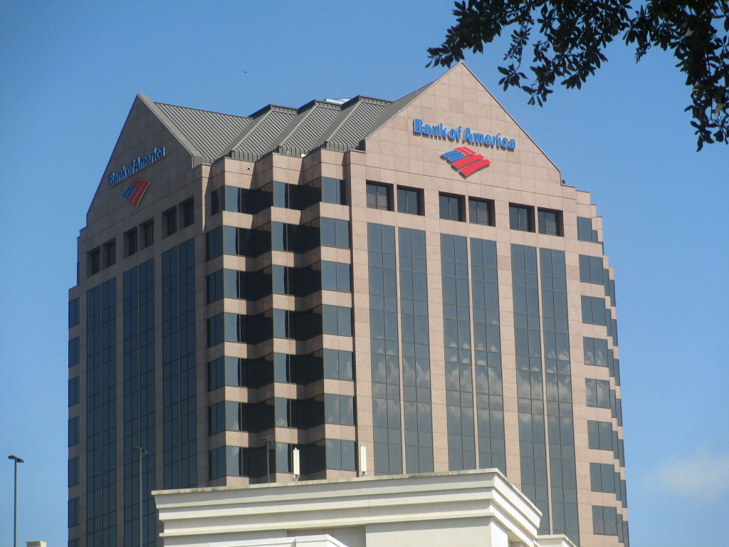 """Bank of America, Columbia, SC IMG 4799"" by Billy Hathorn - Own work. Licensed under CC BY-SA 3.0 via Wikimedia Commons"