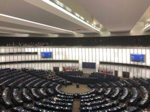 Image: EU Parliament debating