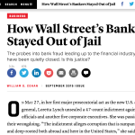How Bankers Avoid the Slammer