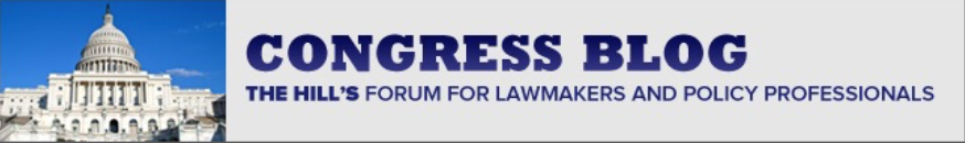 Breaking News: The Congress Blog posts my op-ed