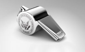 Image: Whistle with the Office of the Whistleblower logo