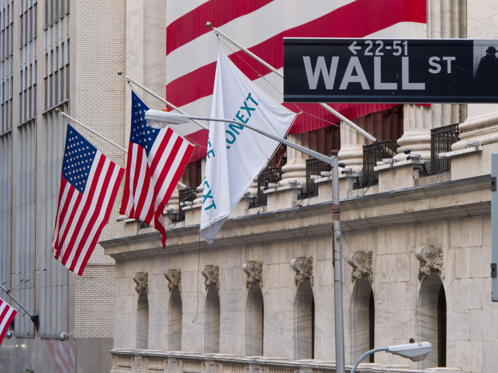 """Wall Street - New York Stock Exchange"" by Carlos Delgado. Licensed under CC BY-SA 3.0 via Wikimedia Commons - https://commons.wikimedia.org/wiki/File:Wall_Street_-_New_York_Stock_Exchange.jpg#/media/File:Wall_Street_-_New_York_Stock_Exchange.jpg"